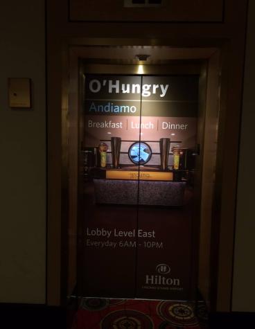 Hilton Elevator Wrap