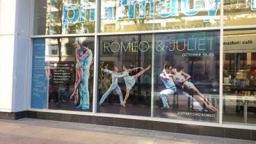 Joffrey Ballet: Romeo and Juliet Clear Vinyl Marketing