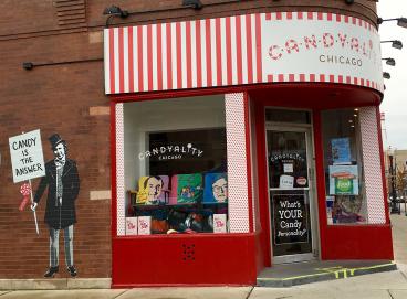Candyality: Window, Brick + Storefront Graphics
