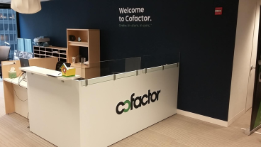 Cofactor: Office Signage and Branding