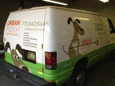 Urban Pooch: Vehicle Wrap