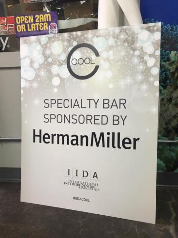 IIDA: Directional Event Signage