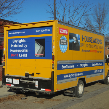 Houseworks Box Truck Wrap