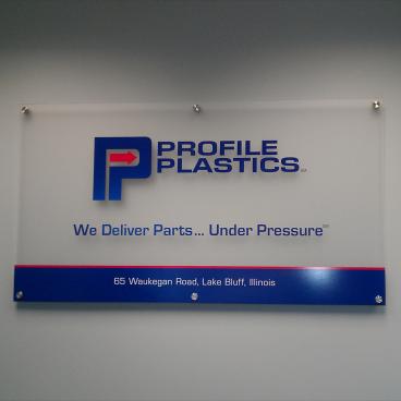 Profile Plastics Sign
