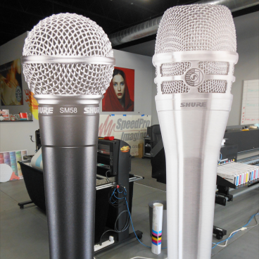 Shure Cut-Out Mics