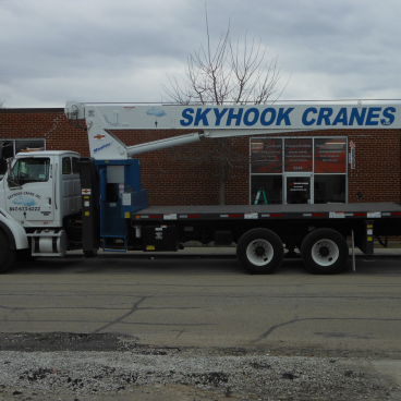 Sky Hook Cranes Wrap
