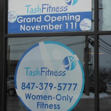 Tash Fitness Window