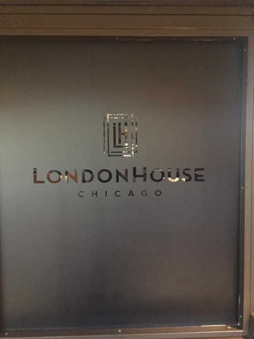 Window Sign - LondonHouse, Chicago