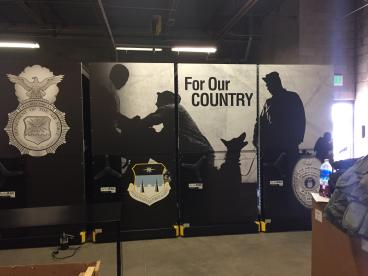 United States Air Force Academy: Print and Install Arlon 8000