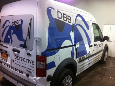 Detective Bed Bug: Full Coverage Vehicle Wrap