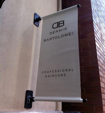 Dennis Bartolomei: Outdoor Banner