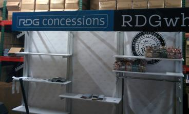 RDG point of purchase display