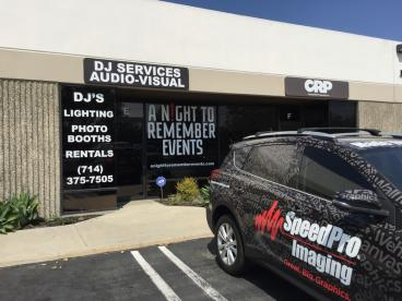 A Night To Remember Events Outside Signage