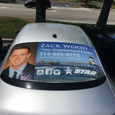 Zack Wood Back Window Perf