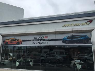 McLaren Window Perf