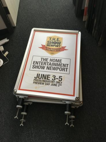 THE Show Newport Beach Wind Signs