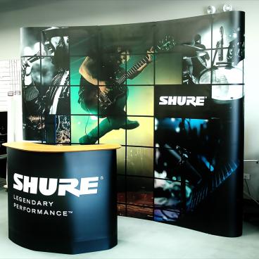 Shure Media Wall