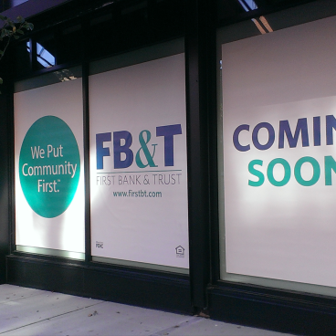 First Bank & Trust Coming Soon