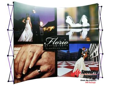 Florio Photography Trade Show Display