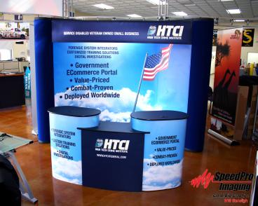 HTCI's New Trade Show Display