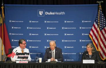 New Photo Backdrop for Duke Health