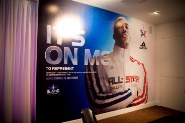 Event Graphics Dallas NBA All-Star Game