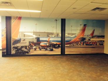 Southwest Airlines Wall Mural Dallas