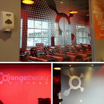 Orange Theory Fitness - Interior Graphics