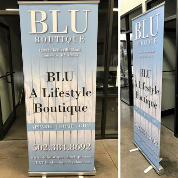 Blu Boutique - Retractable Banner