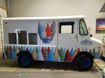 Ice Cream Truck Wrap in Eatontown NJ