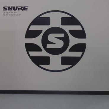 Shure Service Dept Wall