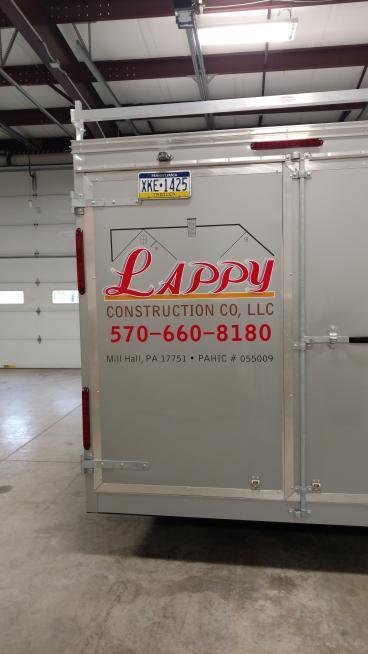 Lappy Construction Trailer