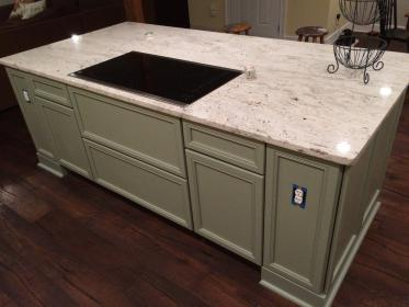 a recent kitchen remodeling job in the winter park fl area