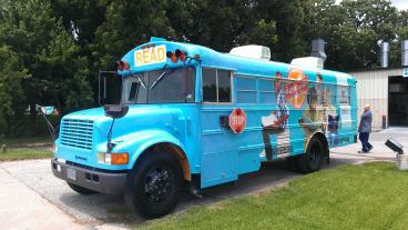 Klein ISD Reading Express bus wrap