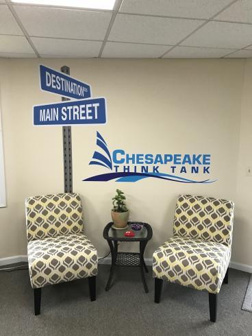 Chesapeake Think Tank, Wall Decals