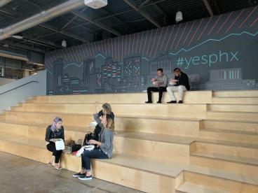 Indoor Wall Mural for Tech Company- Galvanize Phoenix