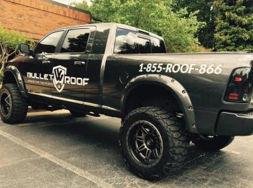 Bullet Roof Vehicle Wrap