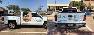 TruBlue Truck Decals