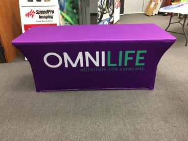 Great Stretch Table Through for our Friends at Omnilife in Plano!