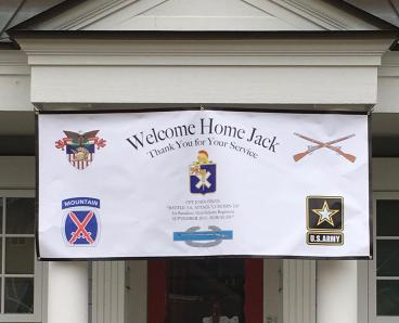 Banner - Welcome Home - Hinsdale, IL