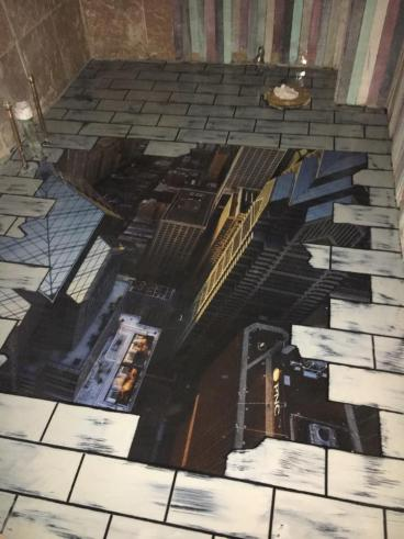 3D hole in floor