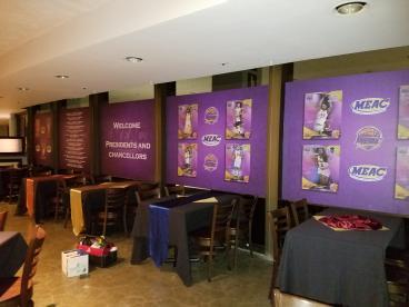 MEAC 2017 event window graphics