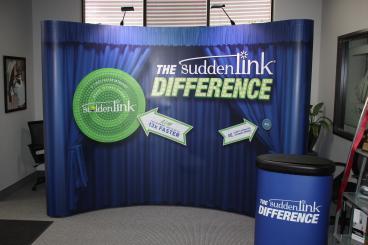 Sudden Link Trade Show Display Dallas Texas
