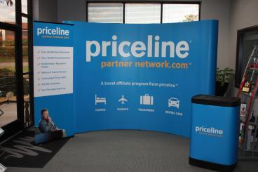 Priceline Trade Show Display Dallas Texas