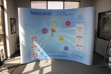 Thailand Tourism Board Trade Show Display Dallas Texas