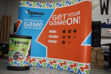 XGames Trade Show Display Dallas Texas