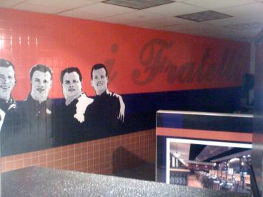 i Fratelli Wall Mural Dallas Texas