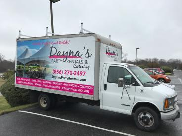 Box Truck Graphics in South Jersey