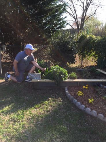 Gardening and Grandchildren