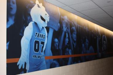 UTA Dallas Wall Mural Speedpro Irving